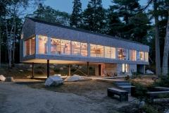 Mirror Point Cottage, Annapolis Royal, Nova Scotia; Photograph: James Brittain