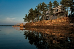 Bridge House Port Medway, Nova Scotia; Photograph: Greg Richardson