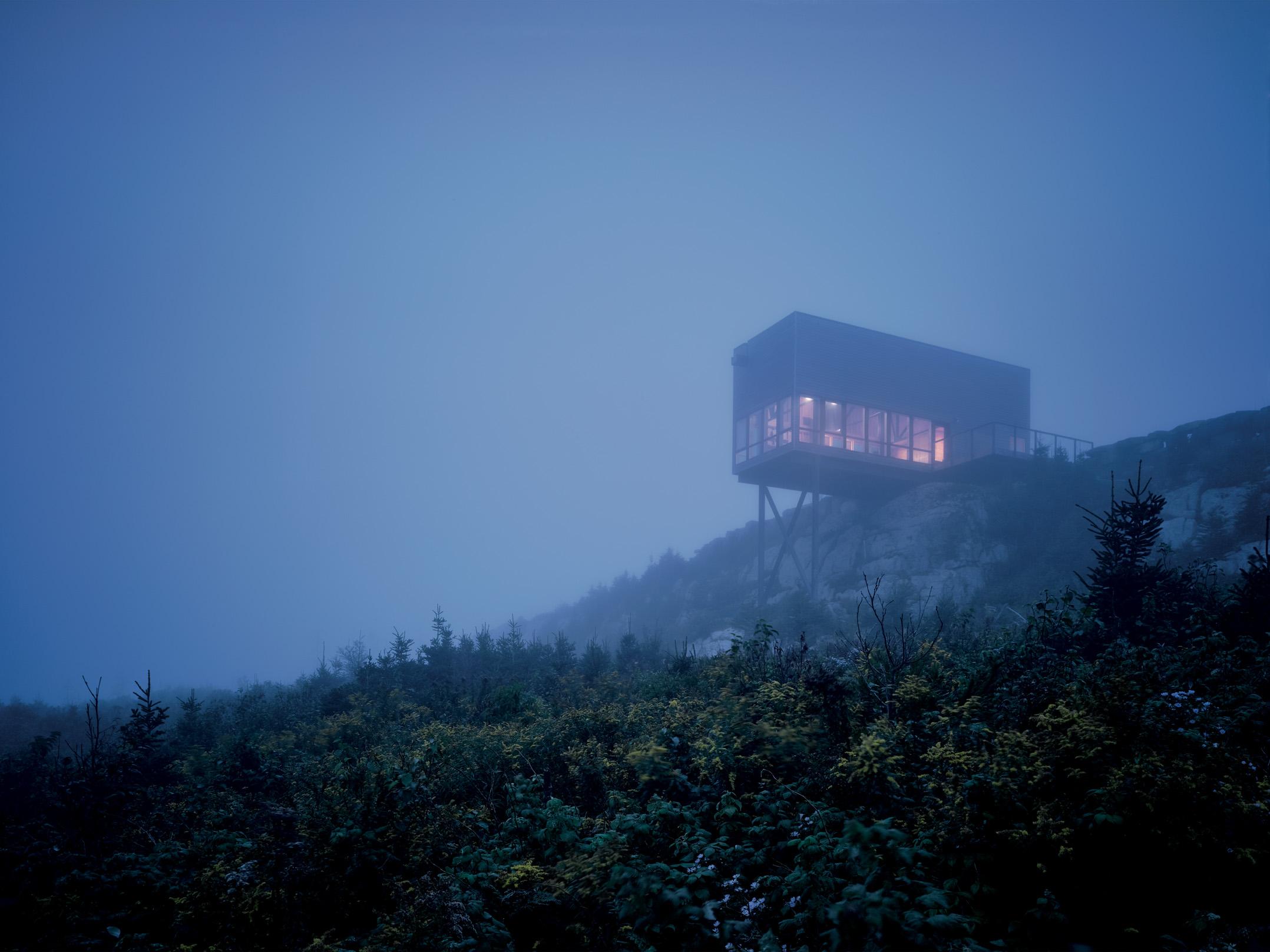 Cliff House, Tomlee Head, Nova Scotia; Photograph: James Brittain