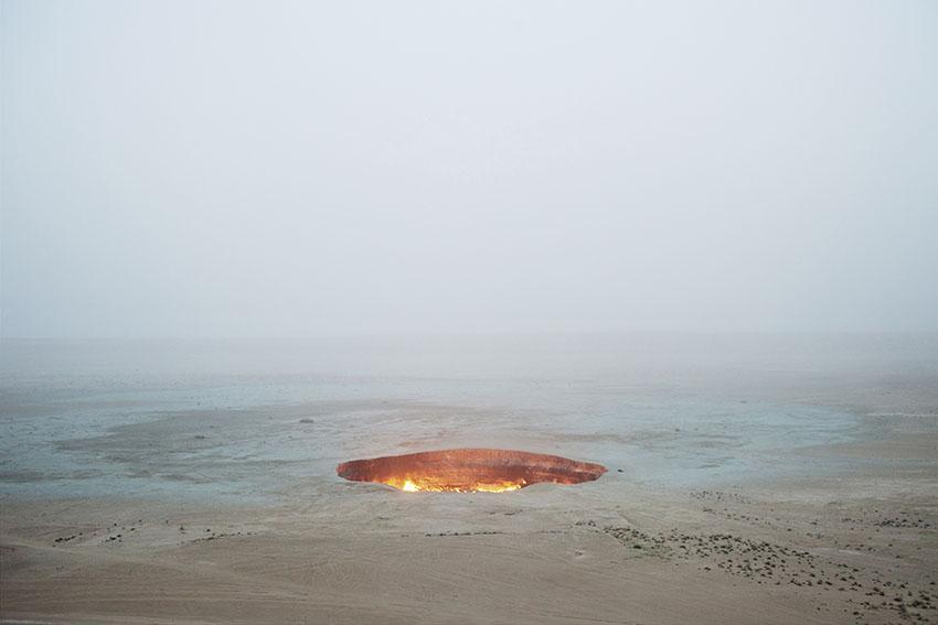 Door to Hell, Darvaza. Turkmenistan. 2009. Carolyn Drake, Magnum Photos
