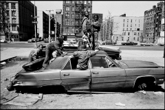 Harlem Street Scene, New York City, USA, 1987. Eli_Reed, Magnum Photos