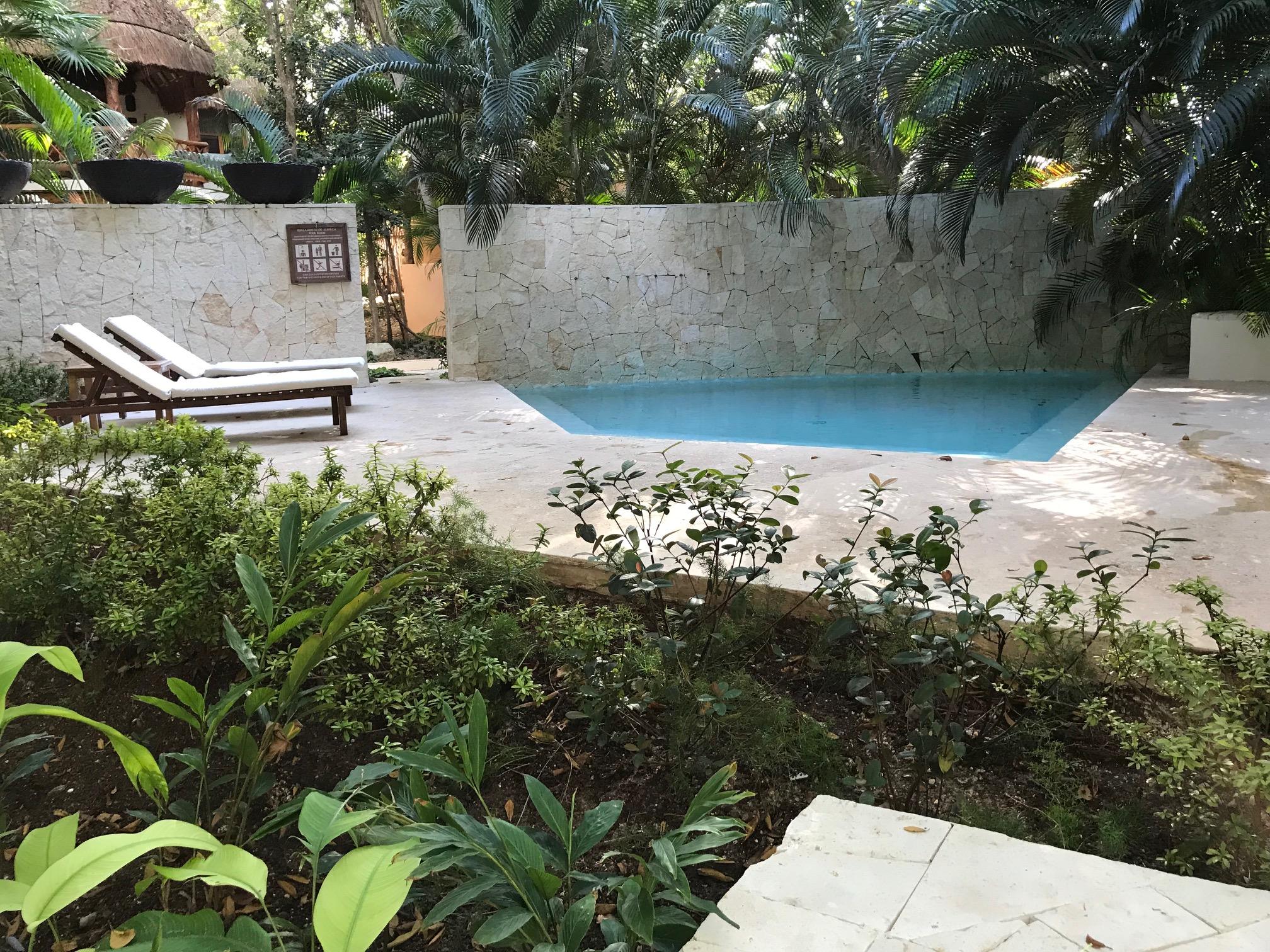 Private Pool, Mahekal Resort, Mexico