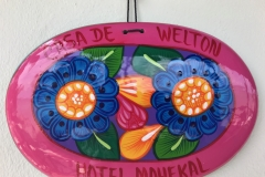 Personalized Welcome, Mahekal Resort, Mexico