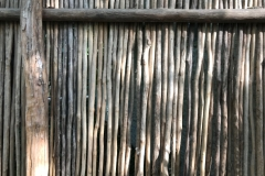 Weathered Mesquite Partition, Mahekal Resort, Mexico