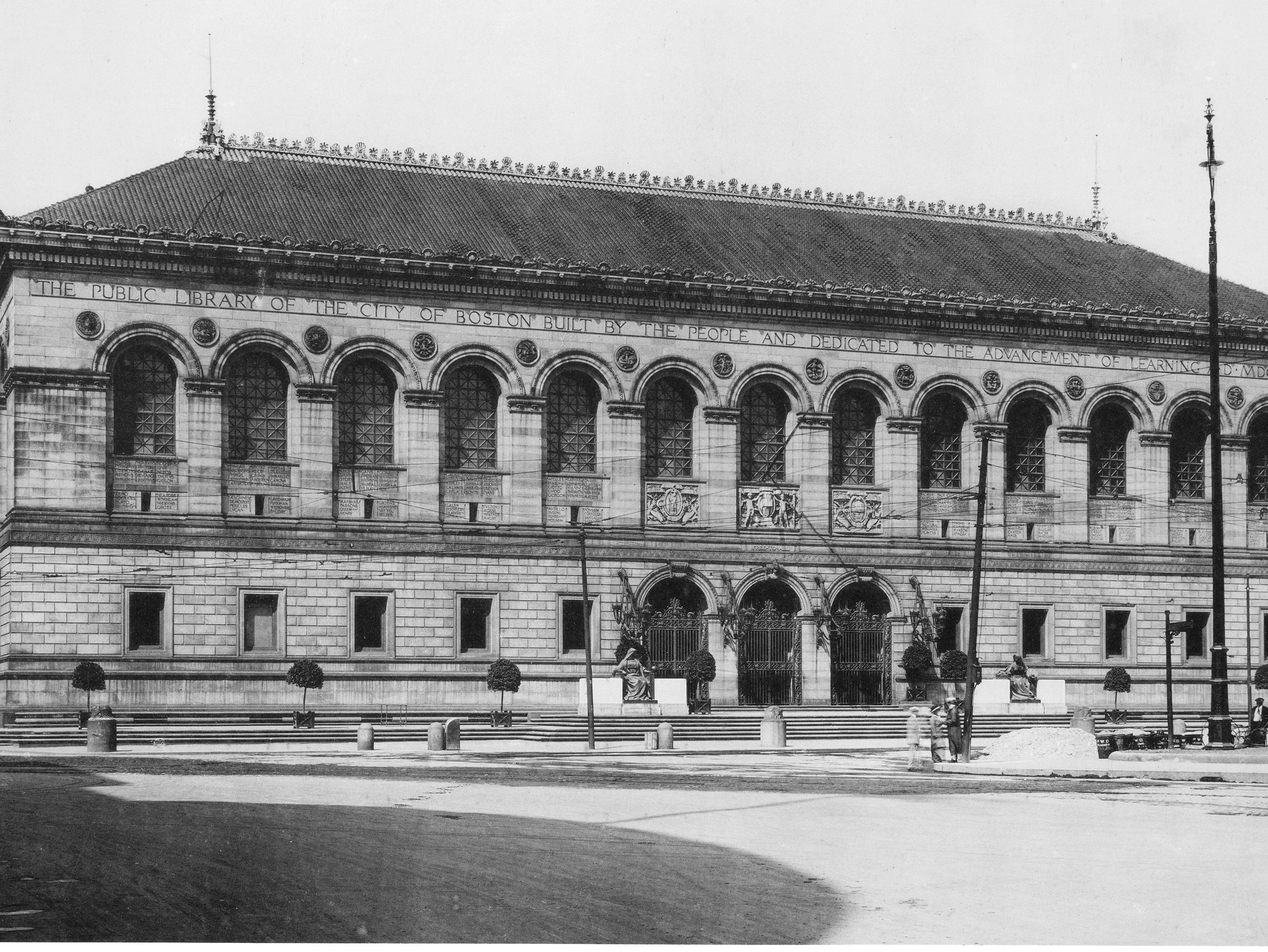 McKim, Mead & White, Boston Library