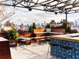 Rooftop Bar, Gansevoort Meatpacking NYC