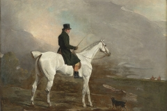 Benjamin Marshall (British, 1768–1835). Noble, a Hunter Well-Known in Kent, 1810. Oil on canvas, 40 1/8 x 50 in. Virginia Museum of Fine Arts, Richmond, Paul Mellon Collection, 99.80. Image © Virginia Museum of Fine Arts. Photo: Katherine Wetzel
