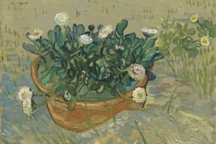 Vincent van Gogh (Dutch, 1853–1890). Daisies, Arles, 1888. Oil on canvas, 13 x 16 1/2 in. Virginia Museum of Fine Arts, Richmond, Collection of Mr. and Mrs. Paul Mellon, 2014.207. Image © Virginia Museum of Fine Arts. Photo: Travis Fullerton