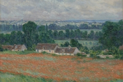 Claude Monet (French, 1840–1926). Field of Poppies, Giverny, 1885. Oil on canvas, 23 5/8 x 28 3/4 in. Virginia Museum of Fine Arts, Richmond, Collection of Mr. and Mrs. Paul Mellon, 85.499. Image © Virginia Museum of Fine Arts. Photo: Katherine Wetzel