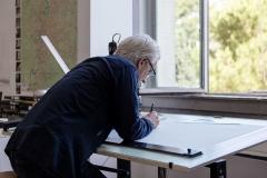 Rome Prize Studio, Robert Hutchison; Altrospazio Photography