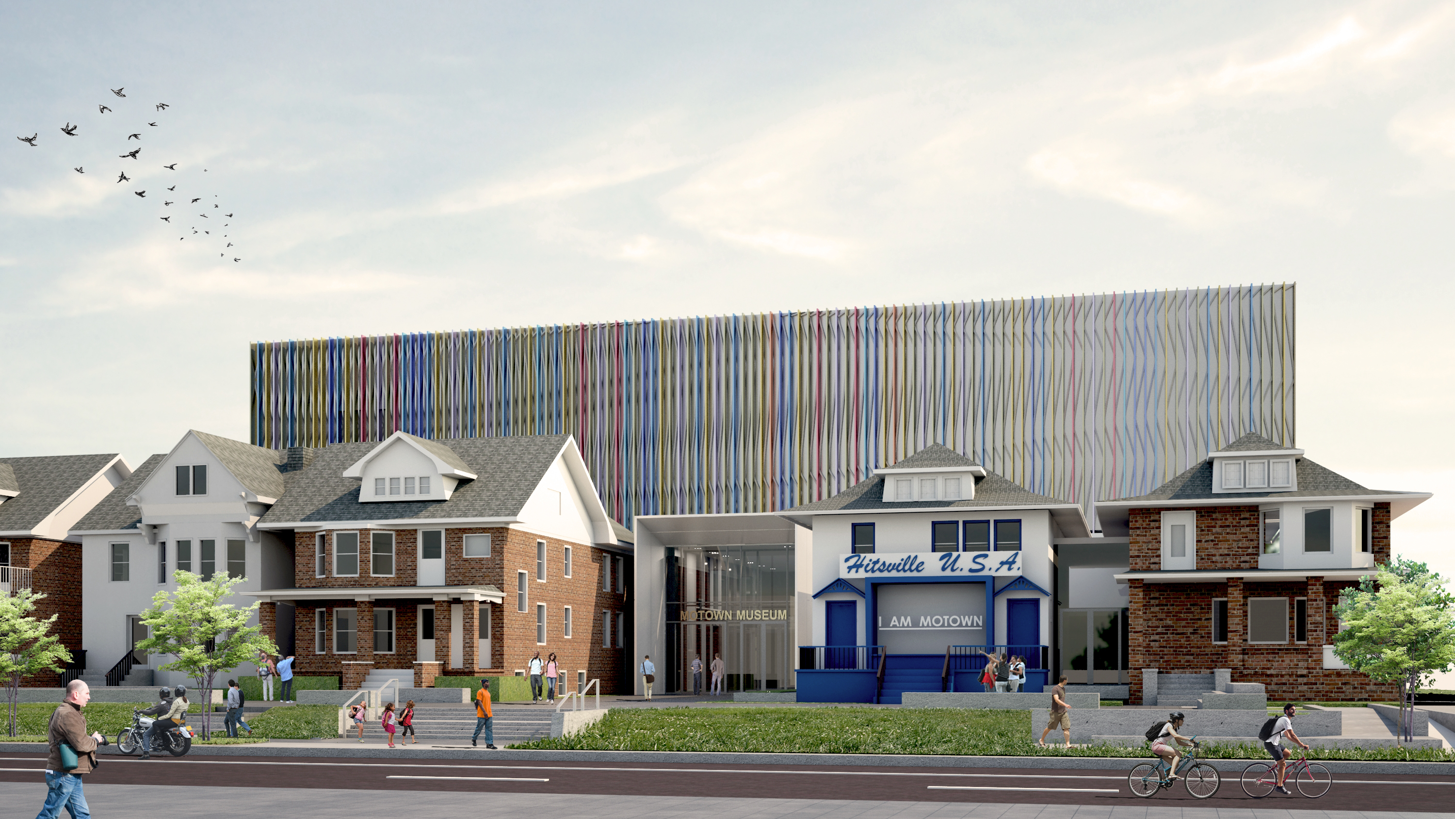 Motown Museum, West Grand Boulevard; Perkins+Will