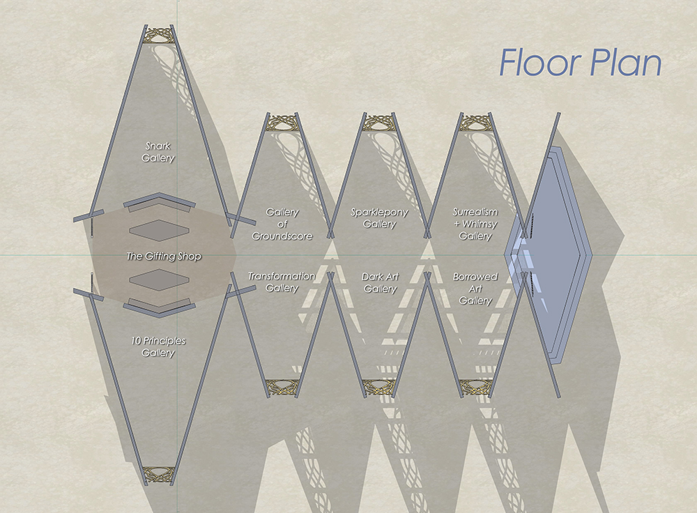 Floor Plan, Museum of No Spectators