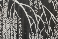 Willow jewel glass mosaic