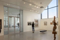 Nora Eccles Harrison Museum of Art. 2018 building renovation and expansion. Main floor galleries.