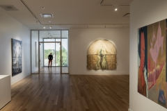 Nora Eccles Harrison Museum of Art. 2018 building renovation and expansion. Upper floor galleries.