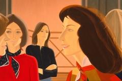 Alex Katz, Six Women, 1975