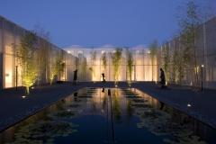 Rodin Garden at Night
