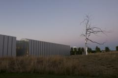 NCMA West Building at Dusk