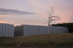 NCMA West Building at Sunset; Askew by RoxyPaine