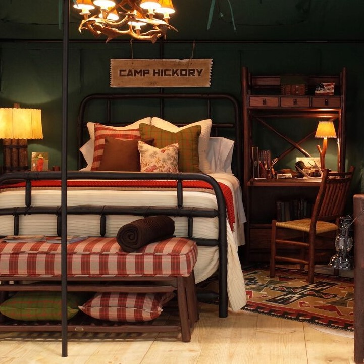 """""""Camp Hickory"""" wins BDNY best exhibit with Jeremiah Young design"""