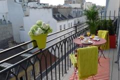 Saumur, balcony, Paris Perfect