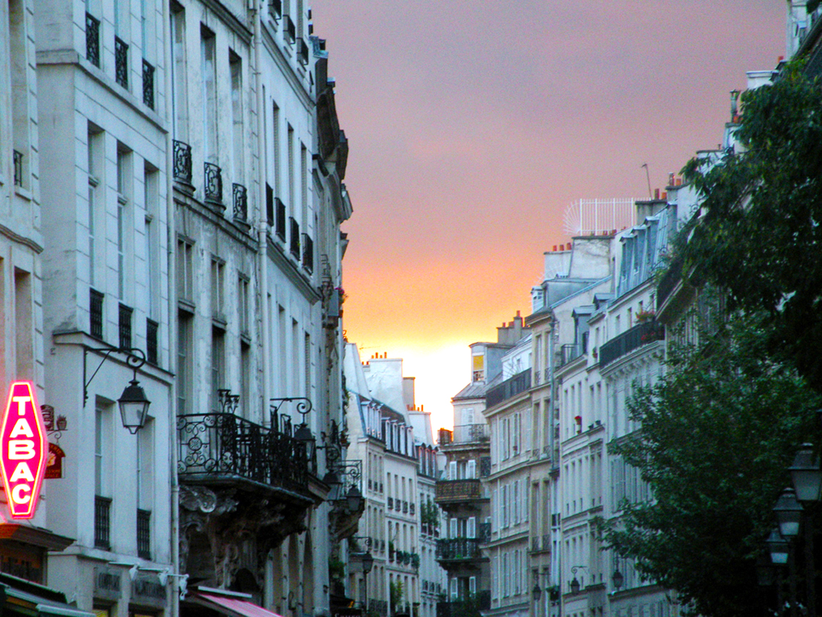 Marais Sunset, Richard Nahem