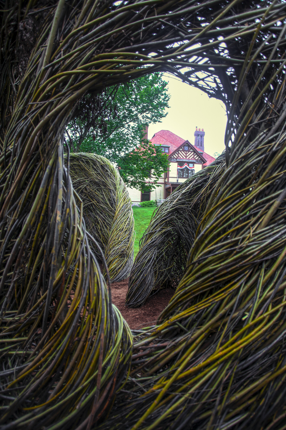 HIGHFIELD-A Passing Fancy: Patrick Dougherty