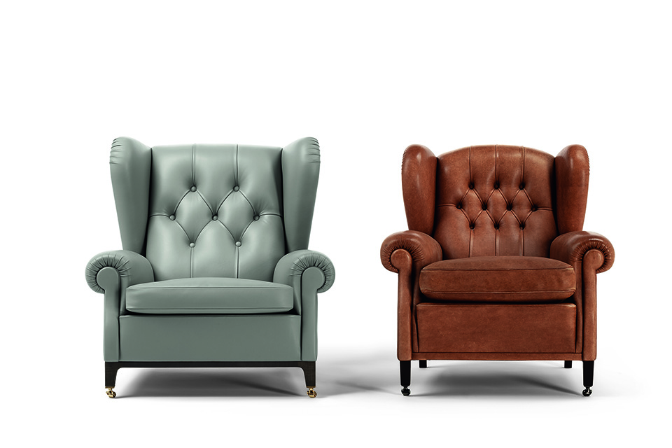 Poltrona Frau, 2019 Chair and 1919 Chair, Style and Design Centre