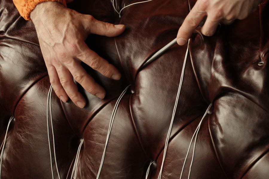 Poltrona Frau, Leather Detail