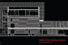 Rabbit Hole Distillery Building Section