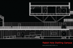 Rabbit Hole Distillery, Building Section