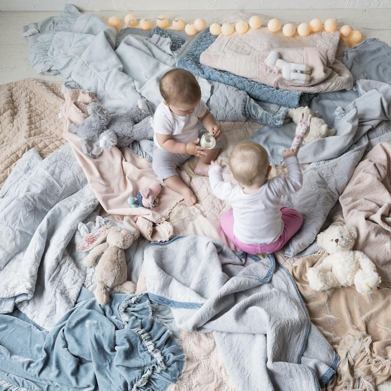 Bella Notte Helane Baby Blankets