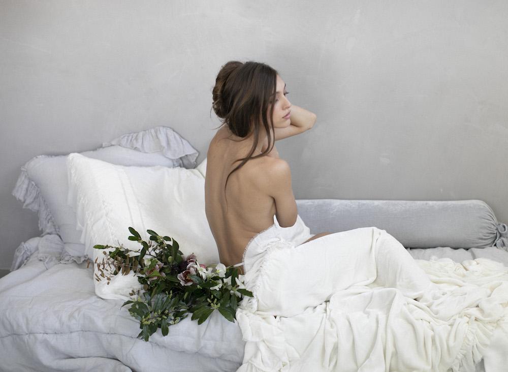 Bella Notte Linen Whisper Valentina Loulah SterlingWhite