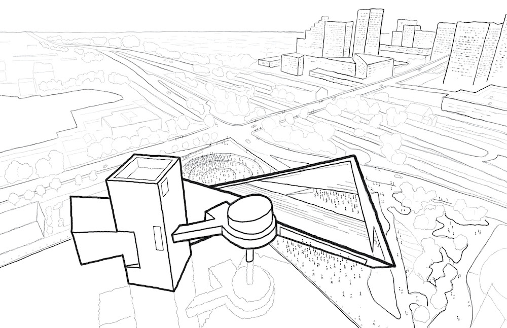 PAU_201216_RHF_Public-Release-Image_04-Southeast-Aerial-Sketch_credit-to-Practice-for-Architecture-and-Urbanism-_-James-Corner-Field-Operations