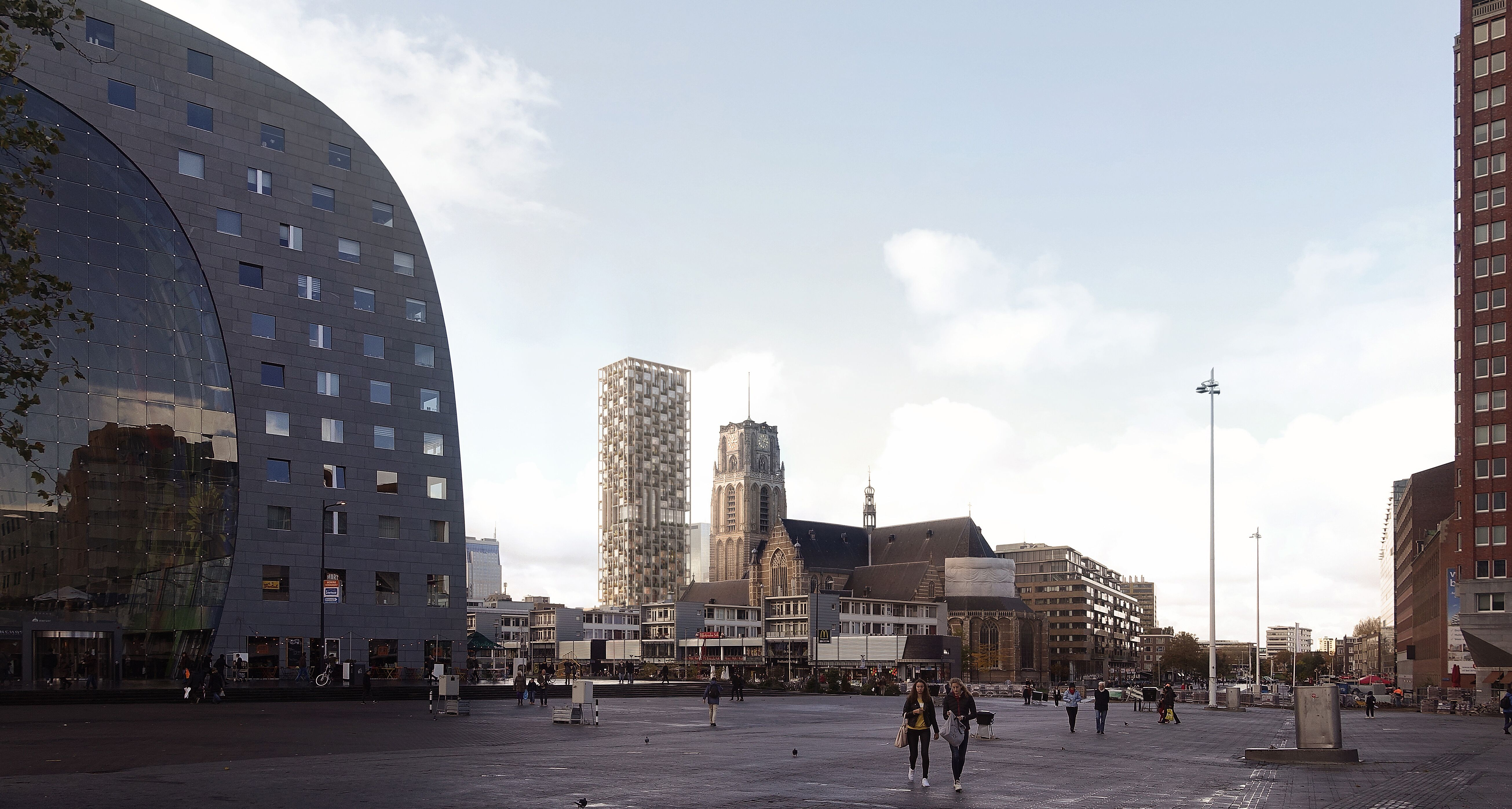 ODA New York has been tapped to redesign the historic post office in Rotterdam, Netherlands