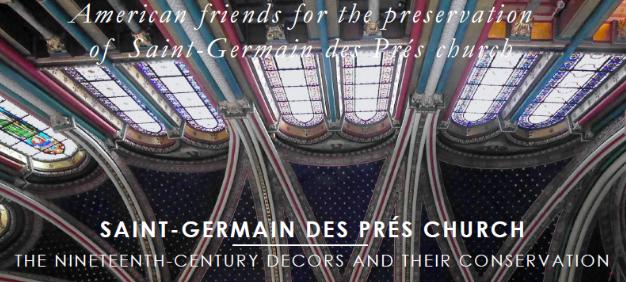 Saint Germain des Prés: Ceiling view