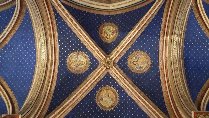 Saint Germain des Prés: Four archangels restored