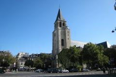 Saint Germain des Prés: Exterior Daytime
