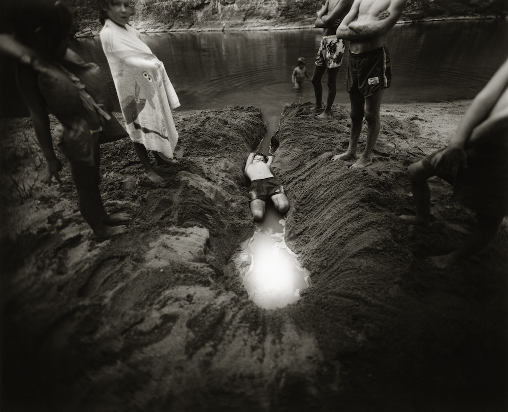 Sally Mann (American, born 1951),The Ditch, 1987, gelatin silver print, The Art Institute of Chicago, Gift of Sally Mann and Edwynn Houk Gallery