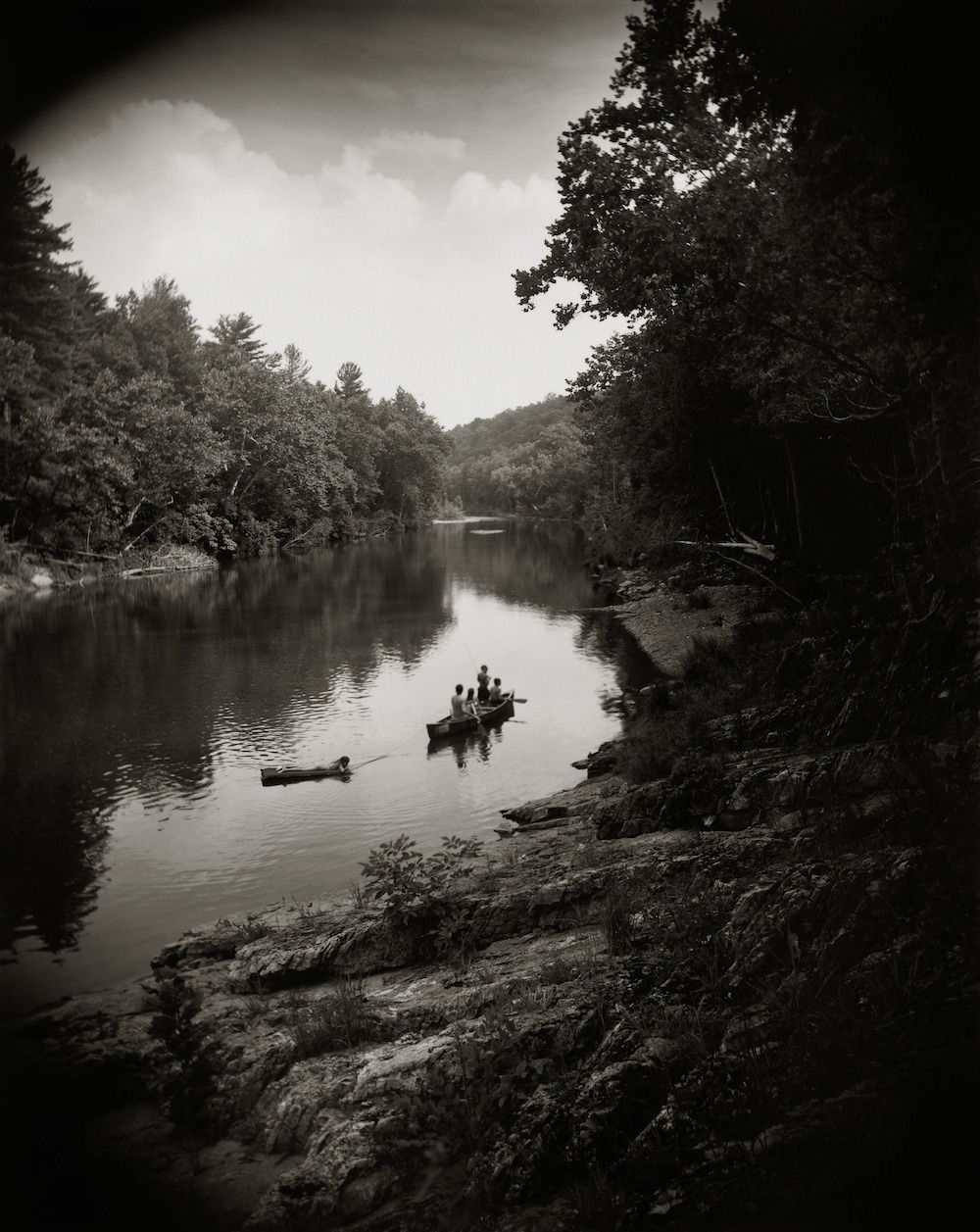 Sally Mann (American, born 1951) On the Maury, 1992, gelatin silver print, Private collection.