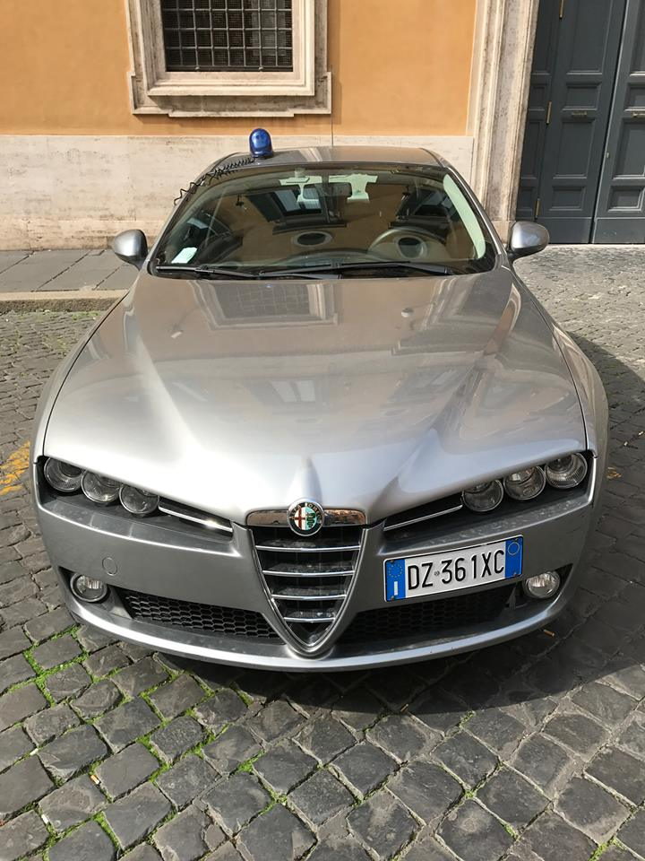 Alfa Romeo Police Vehicle