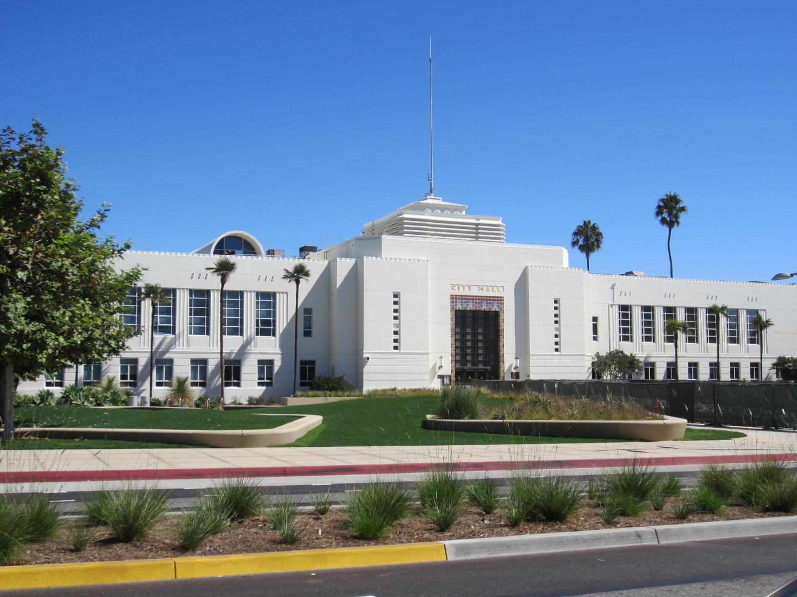 Santa Monica City Hall, 1939, Parkinson & Estep