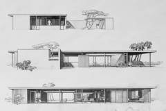 Revere Quality House, Paul Rudolph Drawing