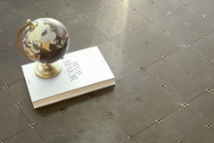 Swiss Dot Lace Noire, Stone Mosaic, Sasha Bikoff