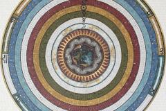 Ptolemy's Cosmos, Stone Mosaic, Sasha Bikoff