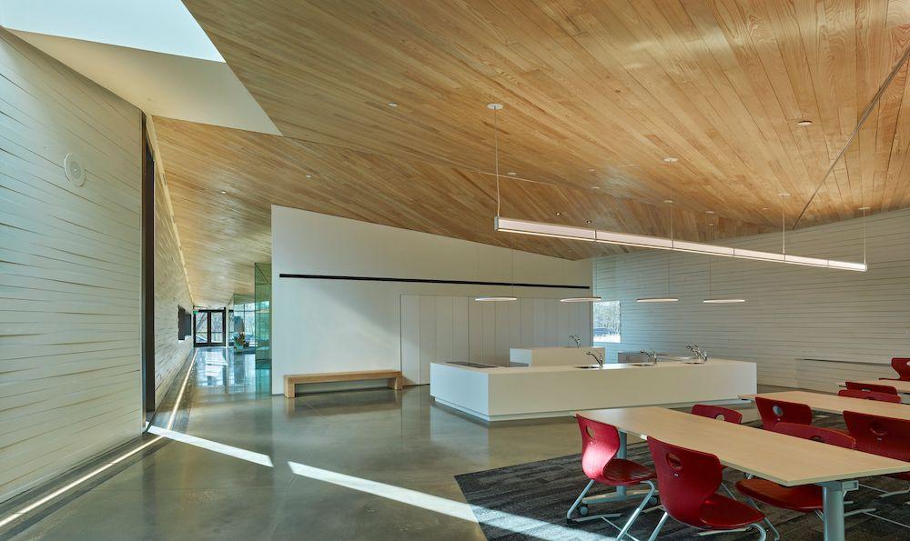 Interior Classroom, Lamplighter School, Blackwell Architects