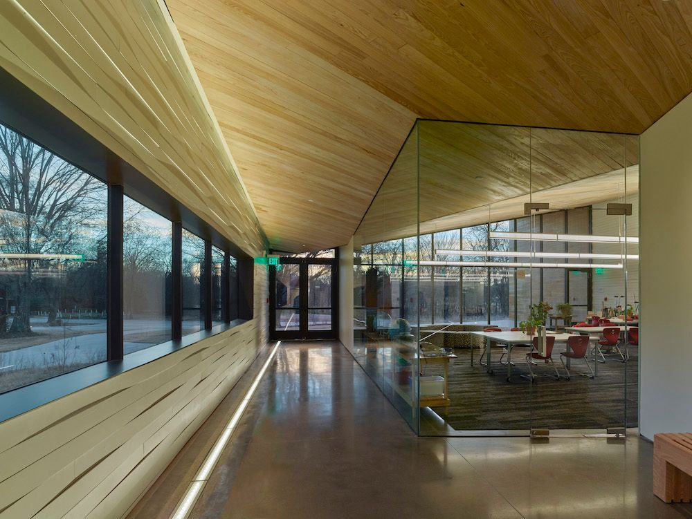 Transparent View, Lamplighter School, Blackwell Architects