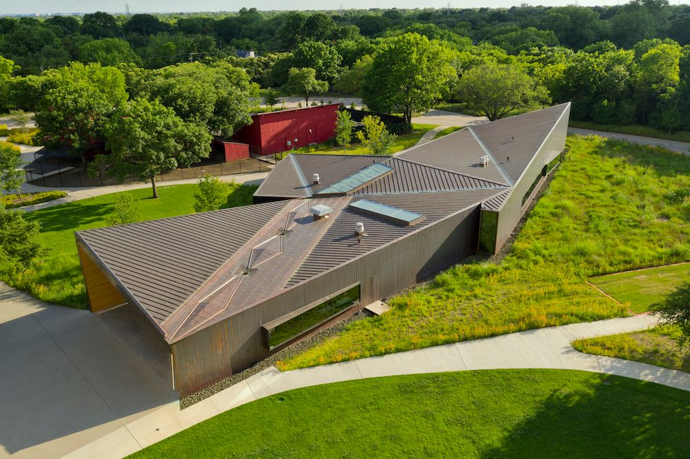 Aerial View, Lamplighter School, Blackwell Architects