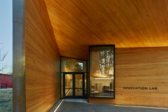 Entrance, Lamplighter School, Blackwell Architects
