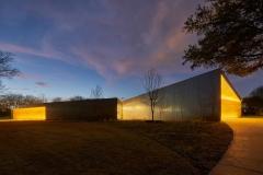 Innovationa Lab at Dusk, Lamplighter School, Blackwell Architects